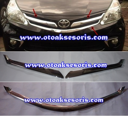 ANZ 41-List Grille Tengah + Bawah All New Avanza