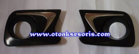harga ANZ 53-Garnish Fog Lamp hitam + List Chrome All New Avanza Otoaksesoris.com