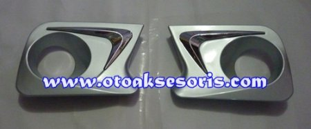harga ANZ 55-Garnish foglamp Warna + List chrome All New Avanza Otoaksesoris.com
