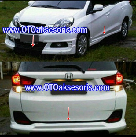 Aksesoris Mobil Honda Aksesoris Mobil Mobilio Mbo 01 Bodykit
