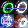 MC 20-BI Xenon Projector LED Angel Eyes Nissan March