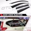 CRT 66-Talang Air/Side Visor Injection/List Chrome Honda CRV Turbo