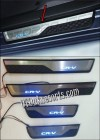 CRT 67-Sill Plate Samping/Door Sill Plate + Lampu OEM All New CRV Turbo