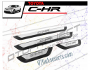 CHR 45-Sill Plate Samping / Side Scuff Plate Kombinasi / Door Sill Plate non lamp Toyota CHR