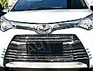 CLA 96-Toyota Calya Grill Radiator/Front Grille Radiator Lower Trim Chrome